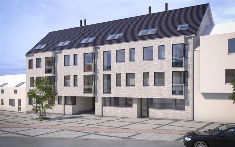 Optie te koop steendorp nieuwbouwappartement met slpks en terras